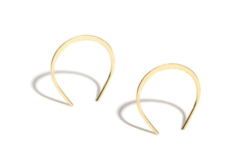 Melissa Joy Mannng 14k gold earrings
