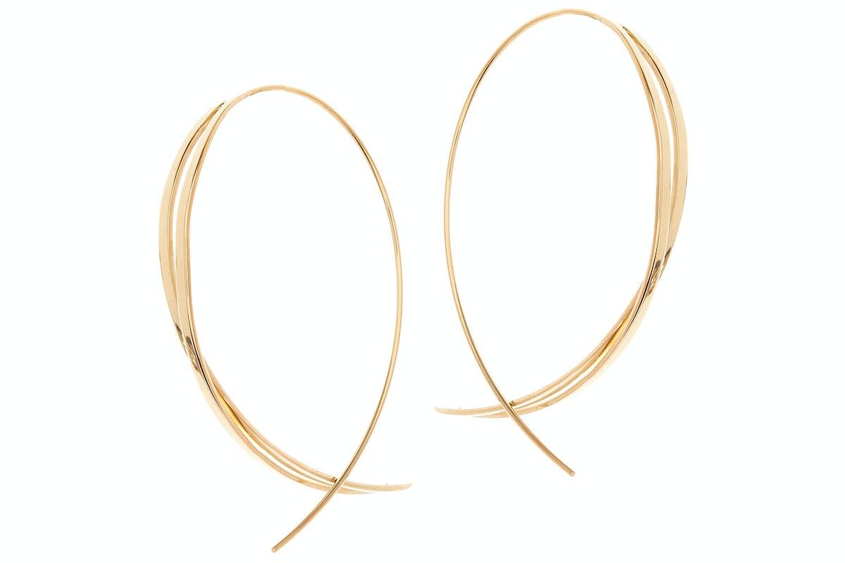 Lana Jewelry 14k gold earrings