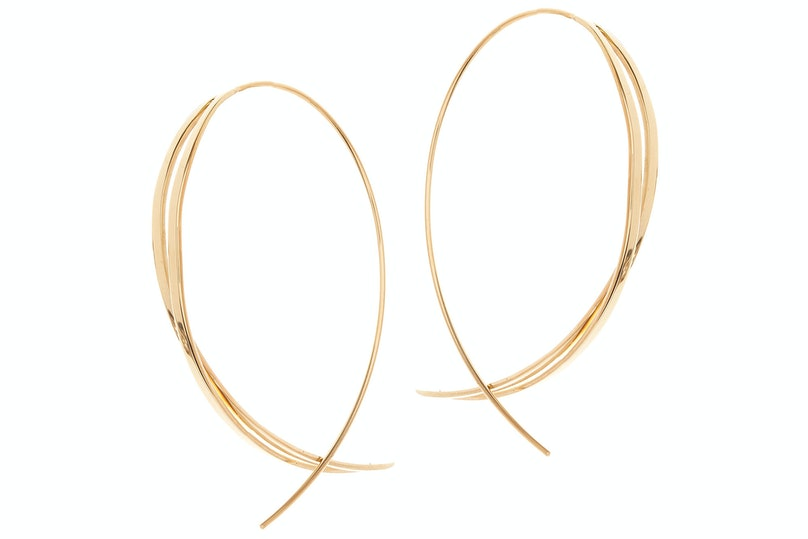 Lana Jewelry 14k gold earrings