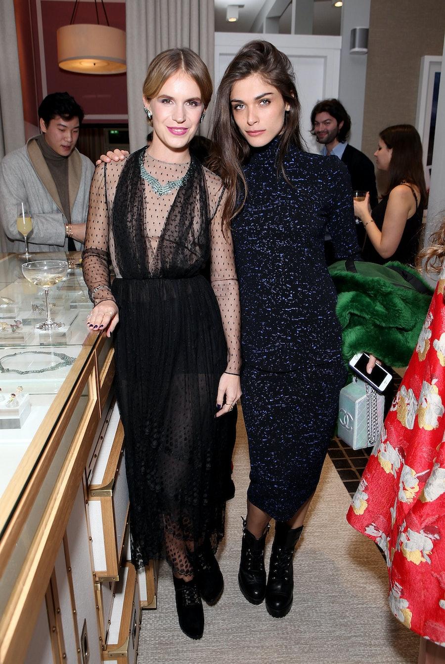 Eugenie Niarchos and Elisa Sednaoui