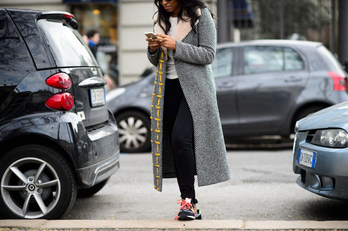 Milan Fashion Week Fall 2015 Street Style Day 1