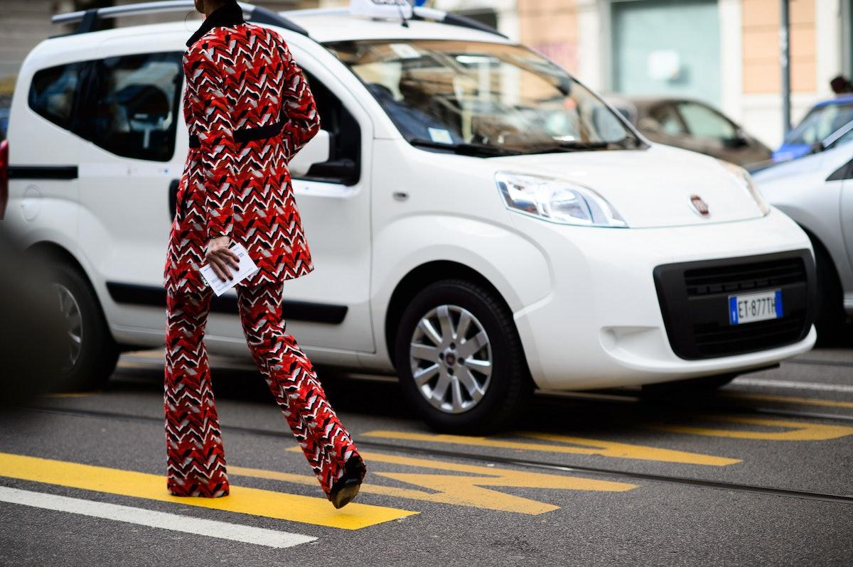 Milan Fashion Week Fall 2015 Street Style Day 2