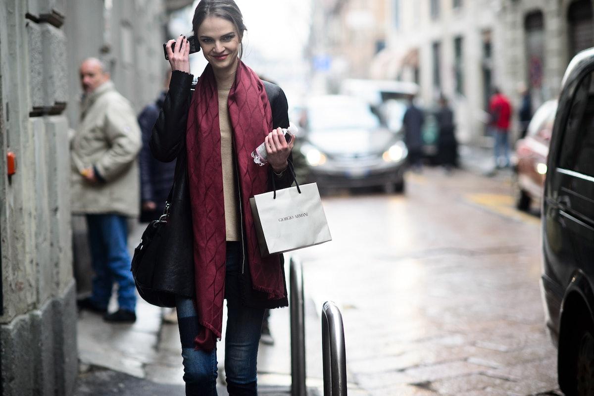 Milan Fashion Week Fall 2015 Street Style Day 6