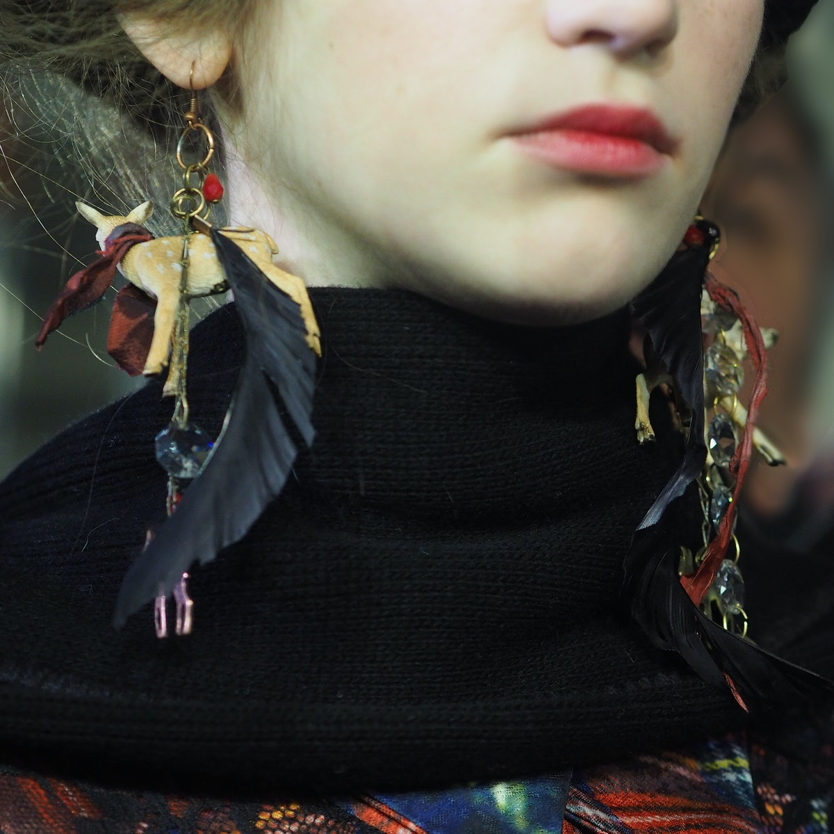 Backstage at I'm Isola Marras Fall 2015