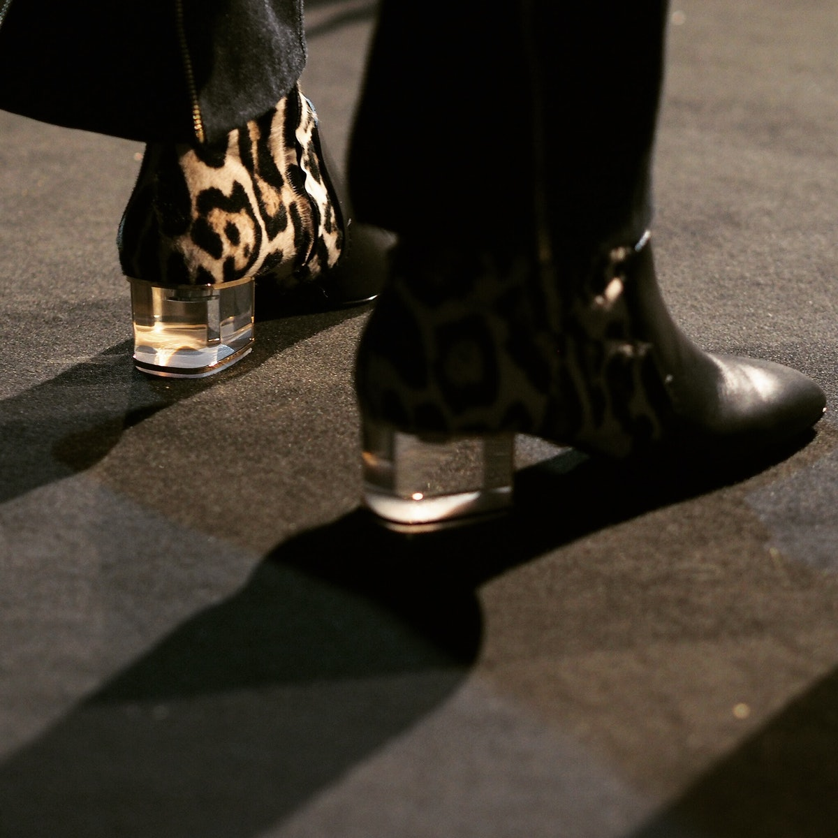 Backstage at Roberto Cavalli Fall 2015