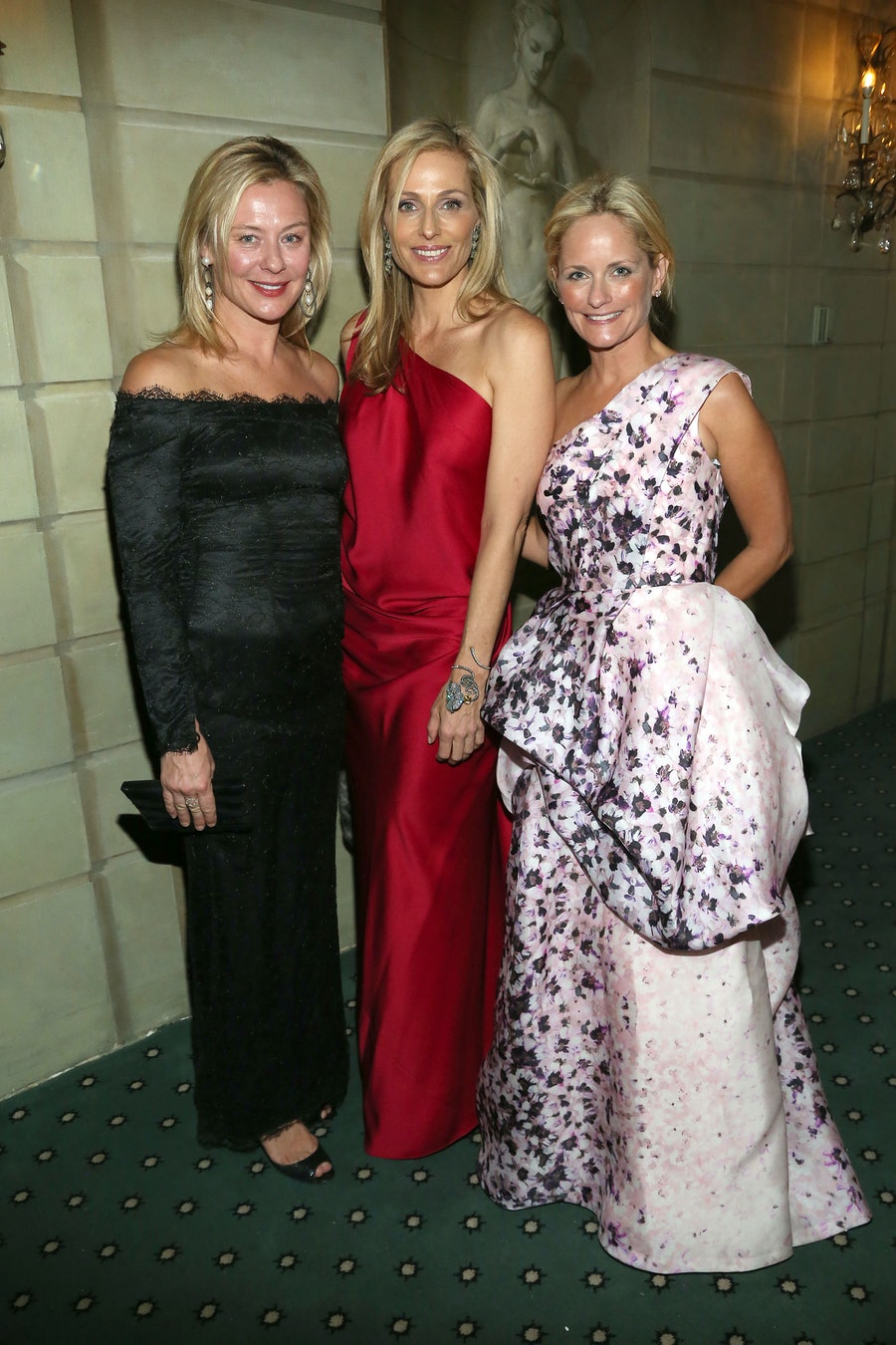 Renee Rockefeller, Jamie Tisch, and Heather Mnuchin