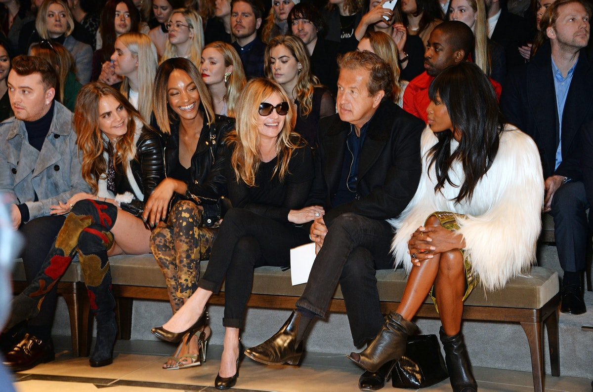 Burberry Fall 2015 Front Row