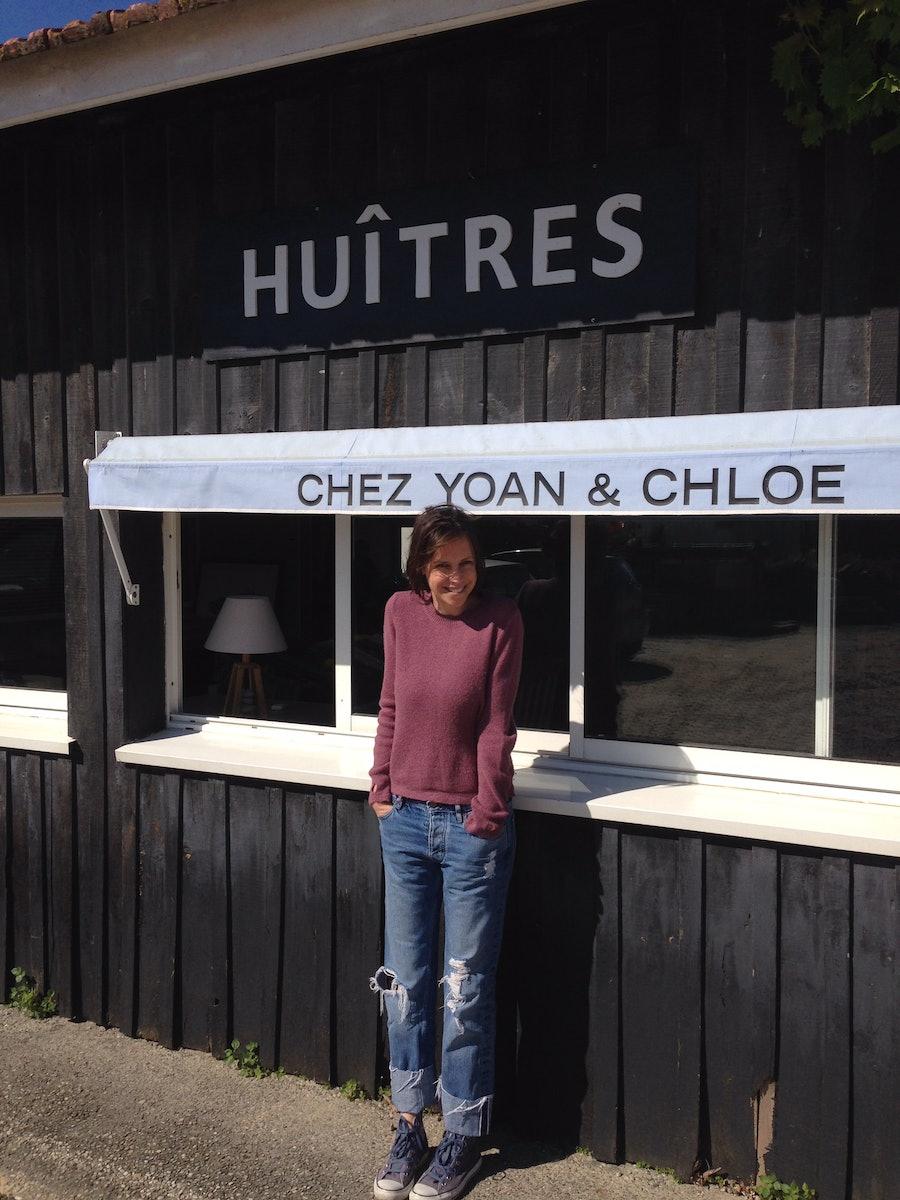 Chloe Lonsdale in Cap Ferret