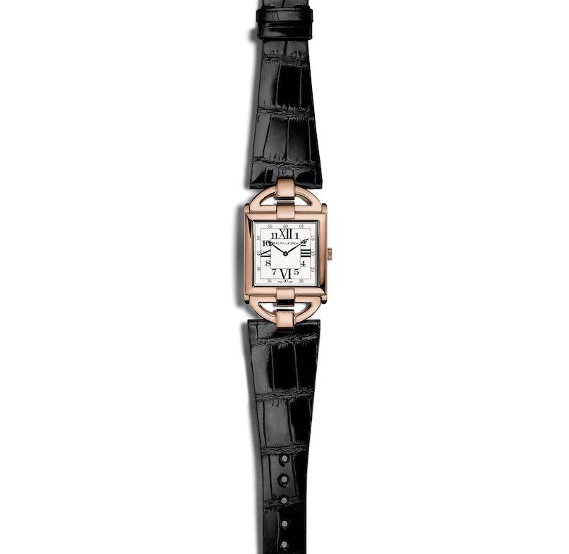 Ralph Lauren 18k rose gold Tuxedo Watch