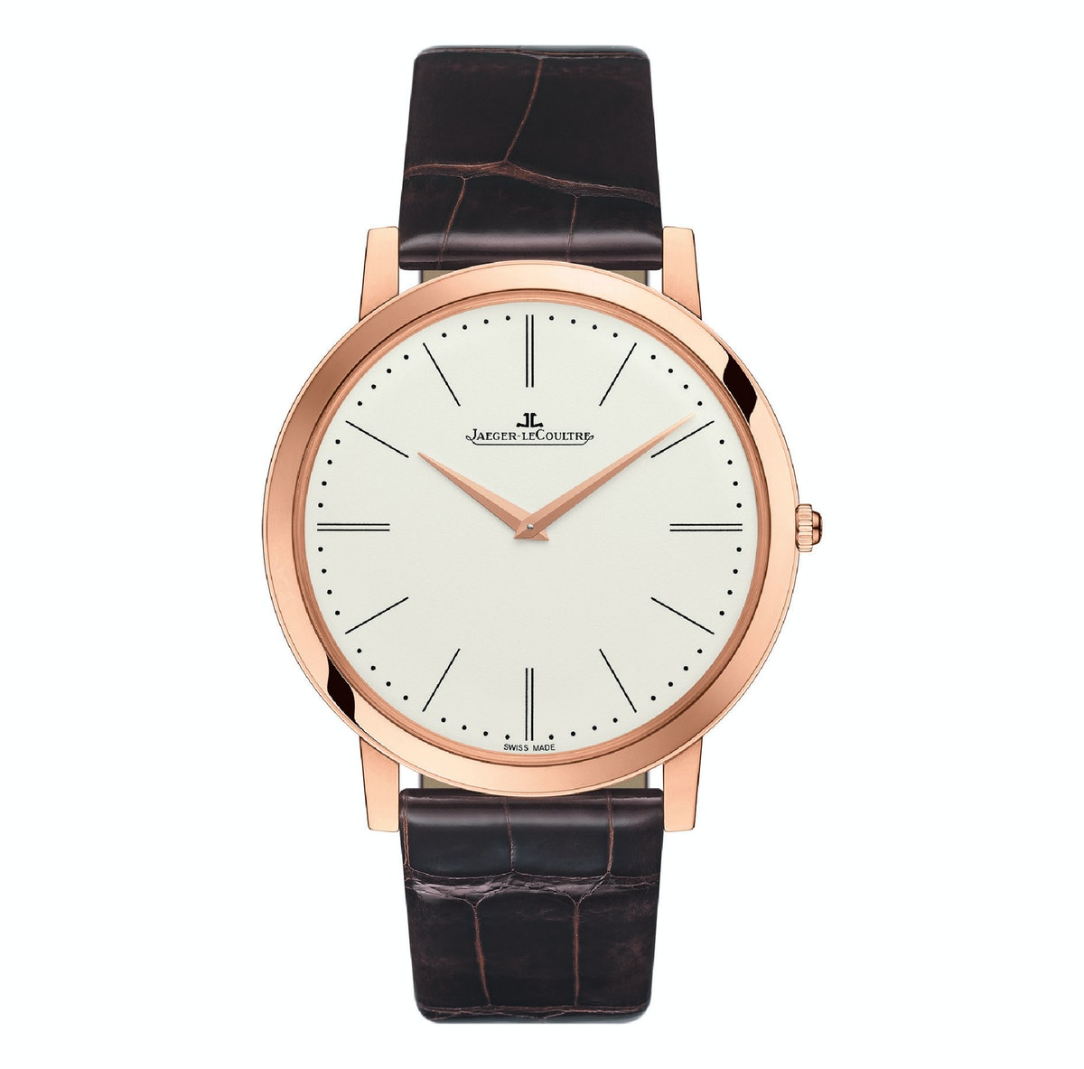 Jaeger-LeCoultre pink-gold watch