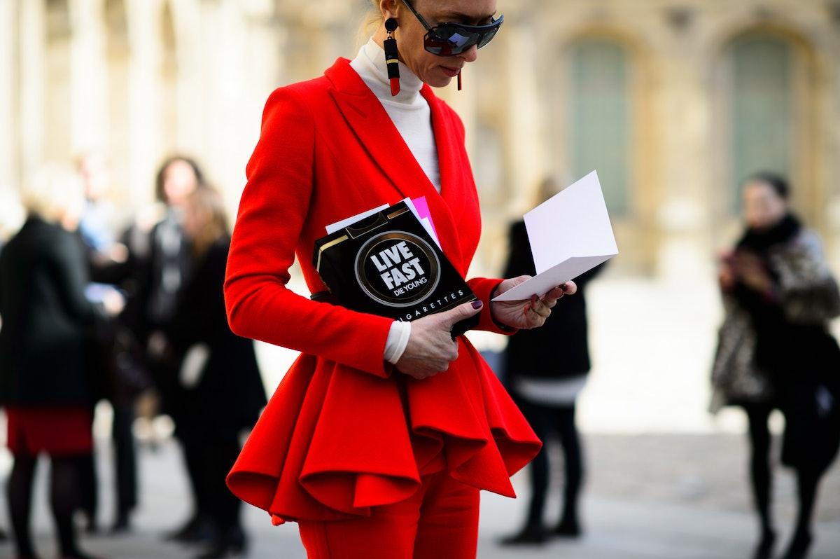 Paris Fashion Week Fall 2015 Street Style Day 3