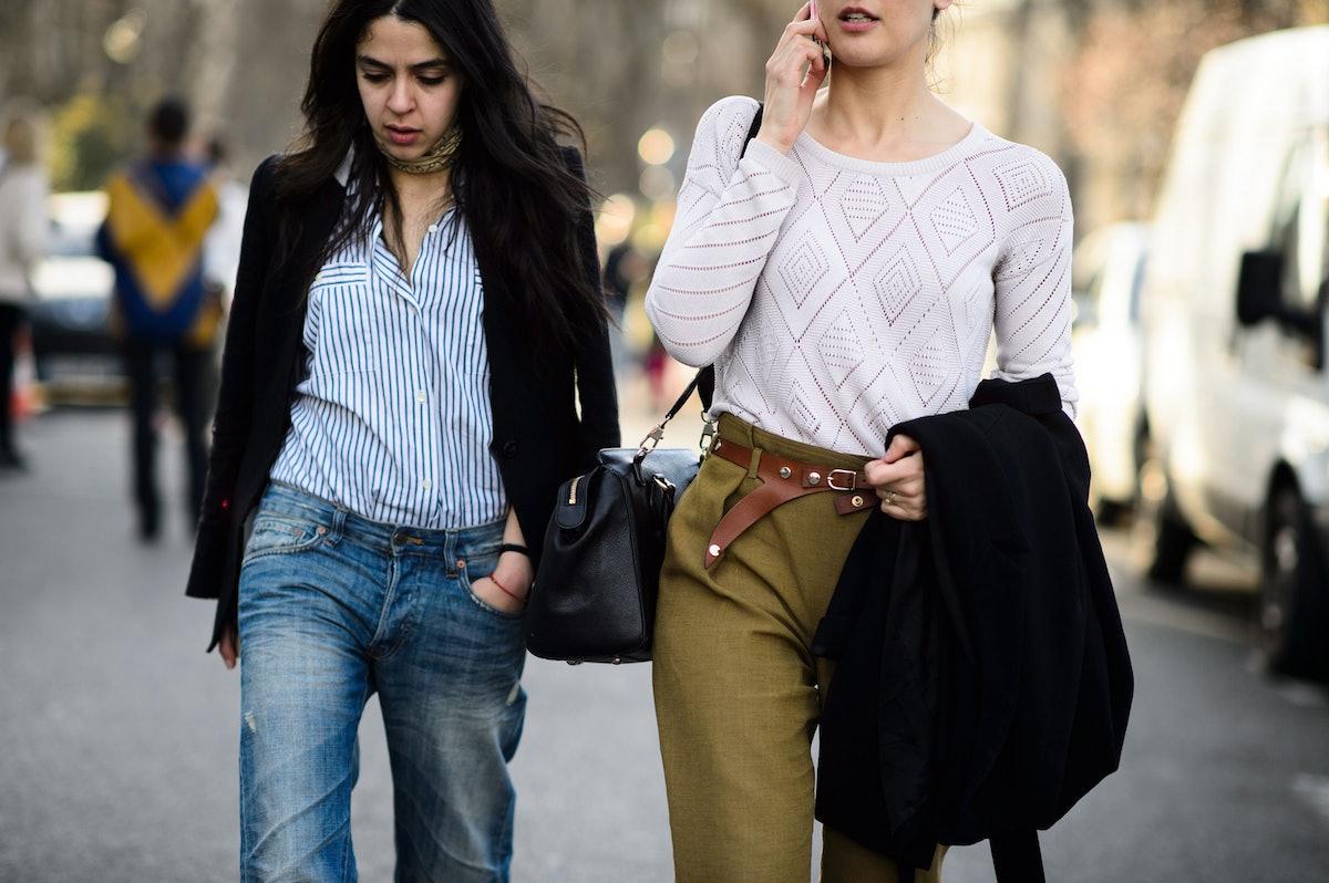 Paris Fashion Week Fall 2015 Street Style Day 5