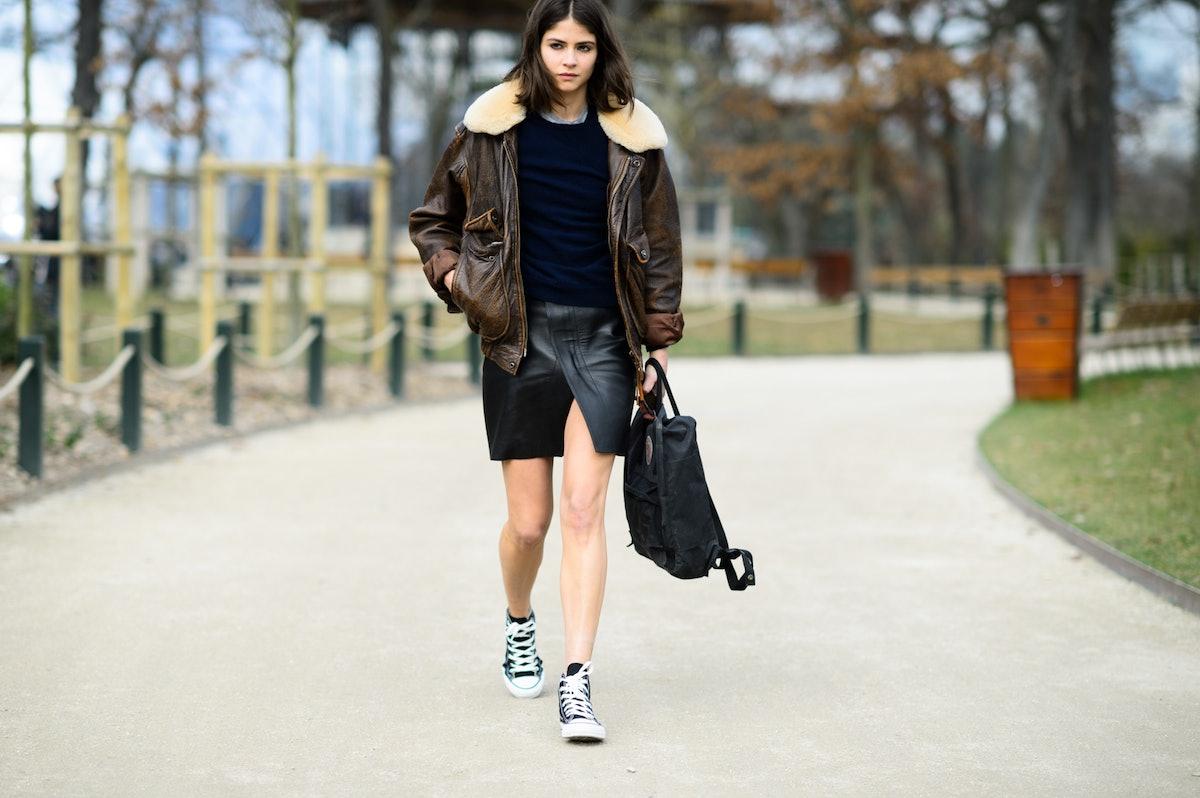 Paris Fashion Week Fall 2015 Street Style Day 8