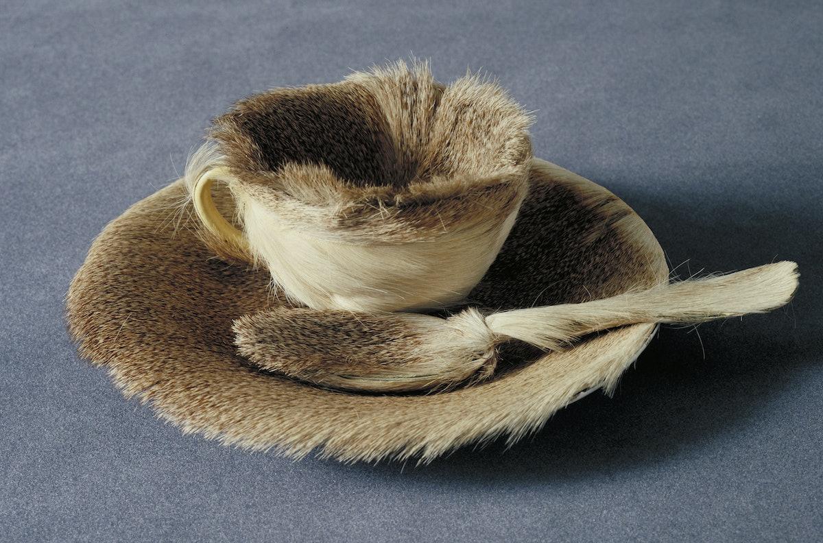Meret Oppenheim's surrealist teacup set