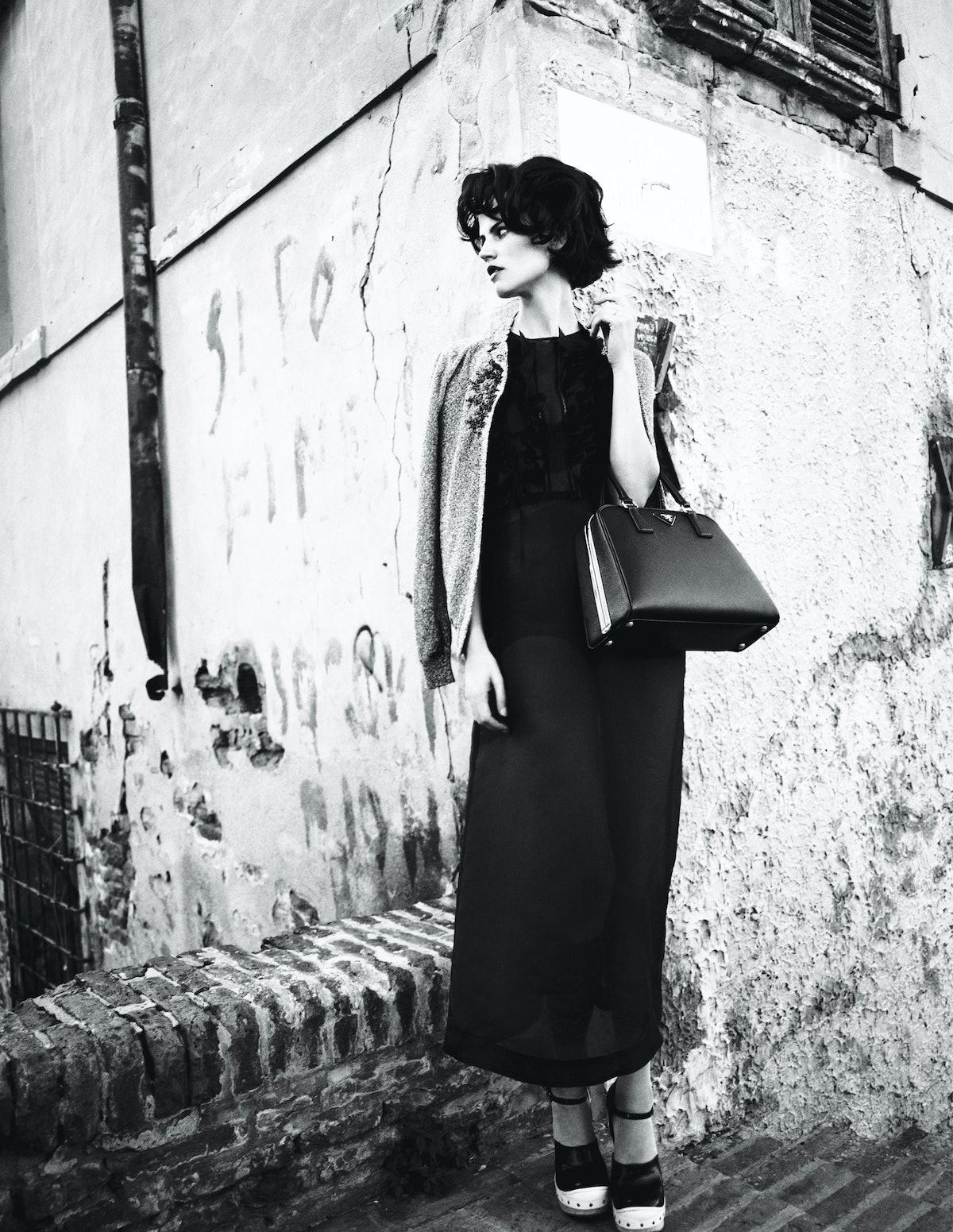 Italian Fashion Spring 2015, Saskia de Brauw