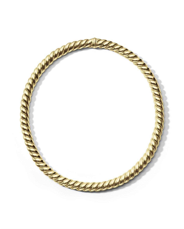 David Yurman gold necklace