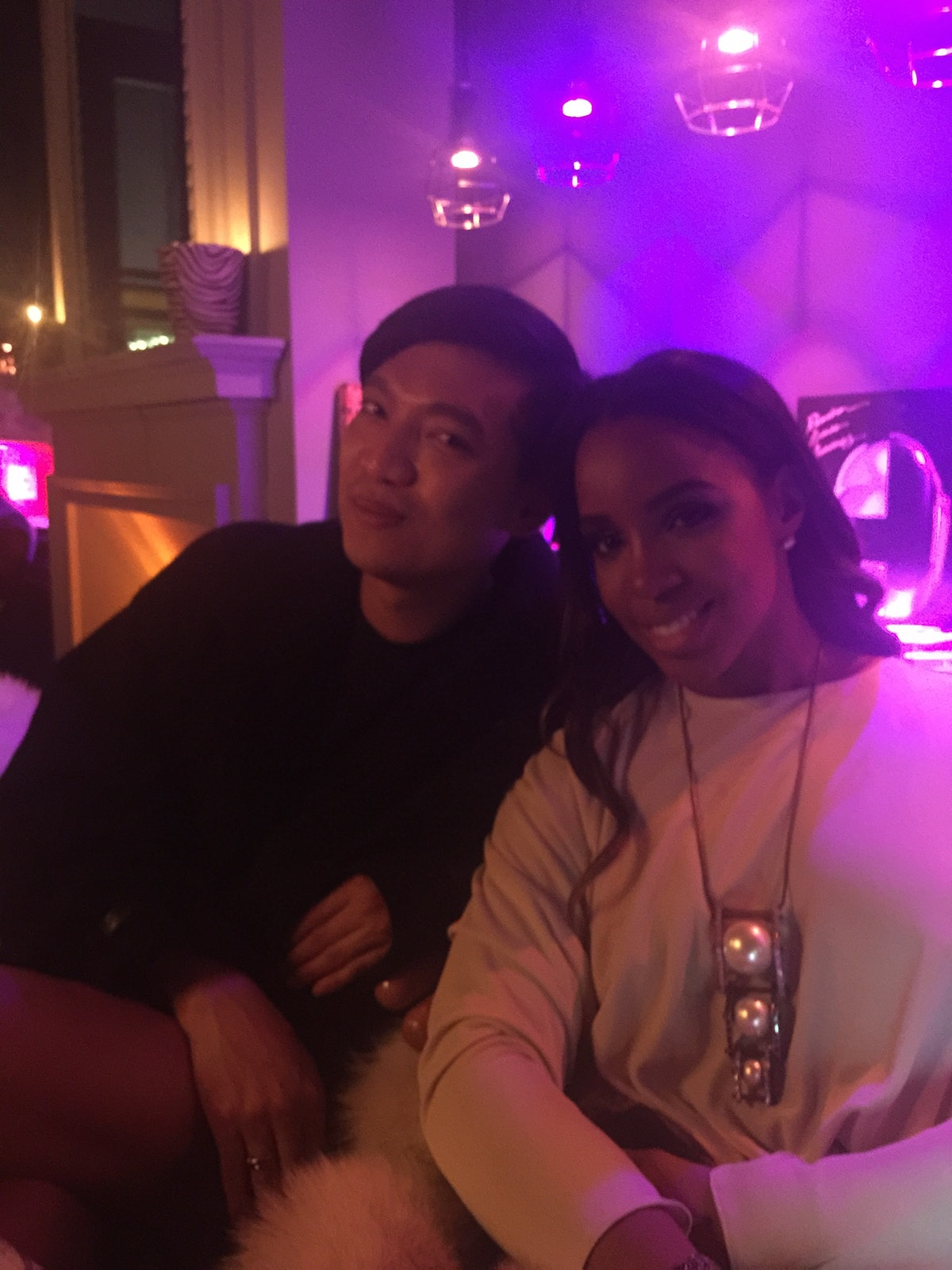 BryanBoy and Kelly Rowland