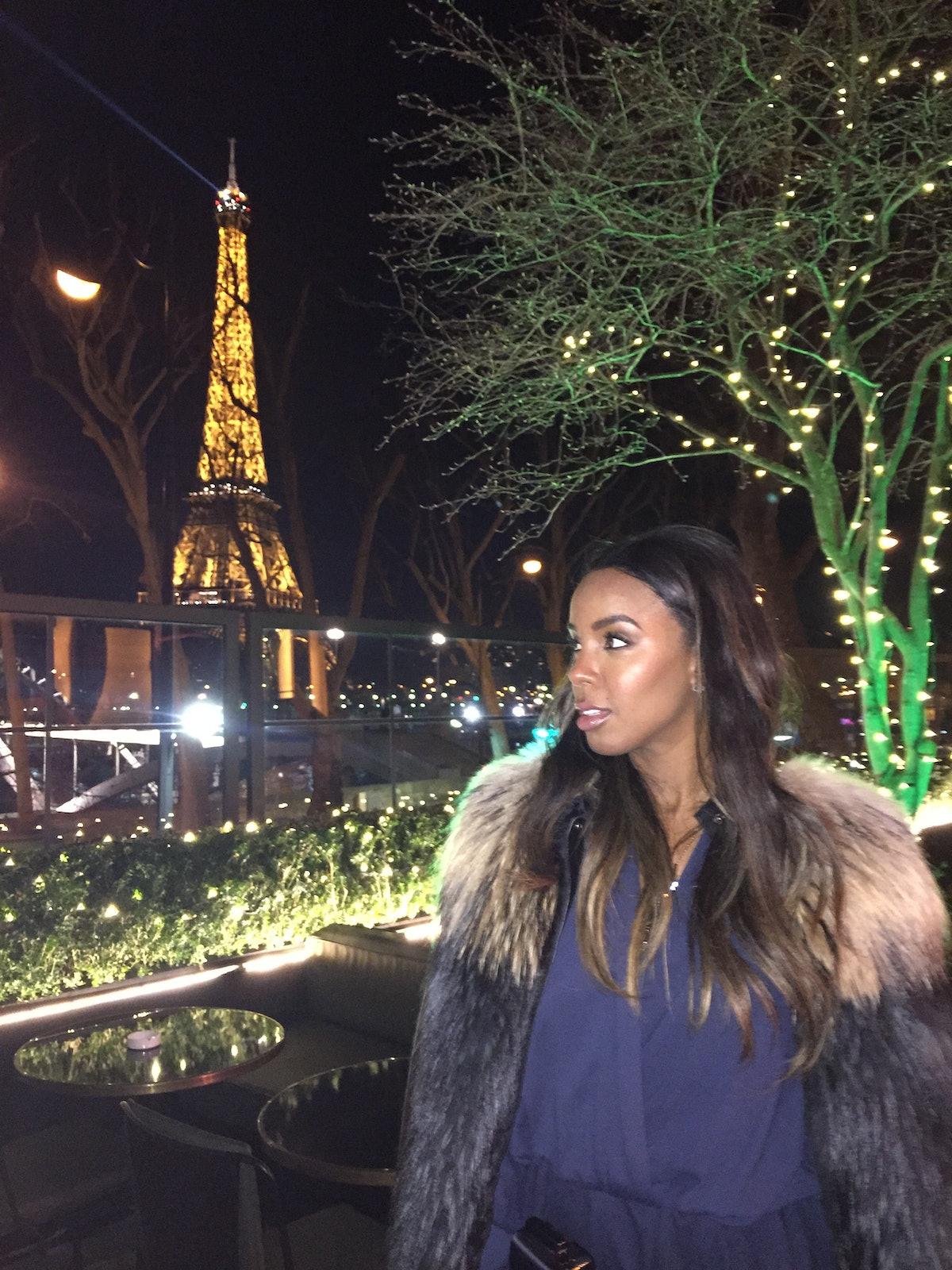 Kelly Rowland in Paris