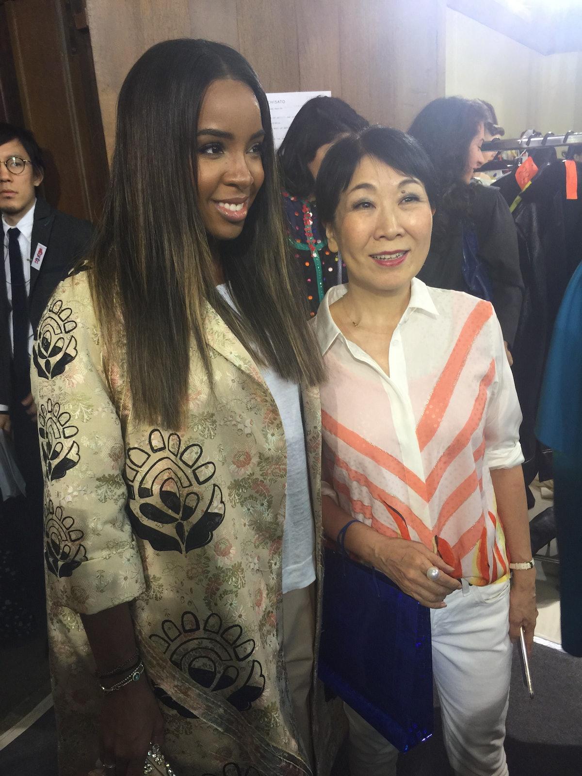 Kelly Rowland and Tsumori Chisato