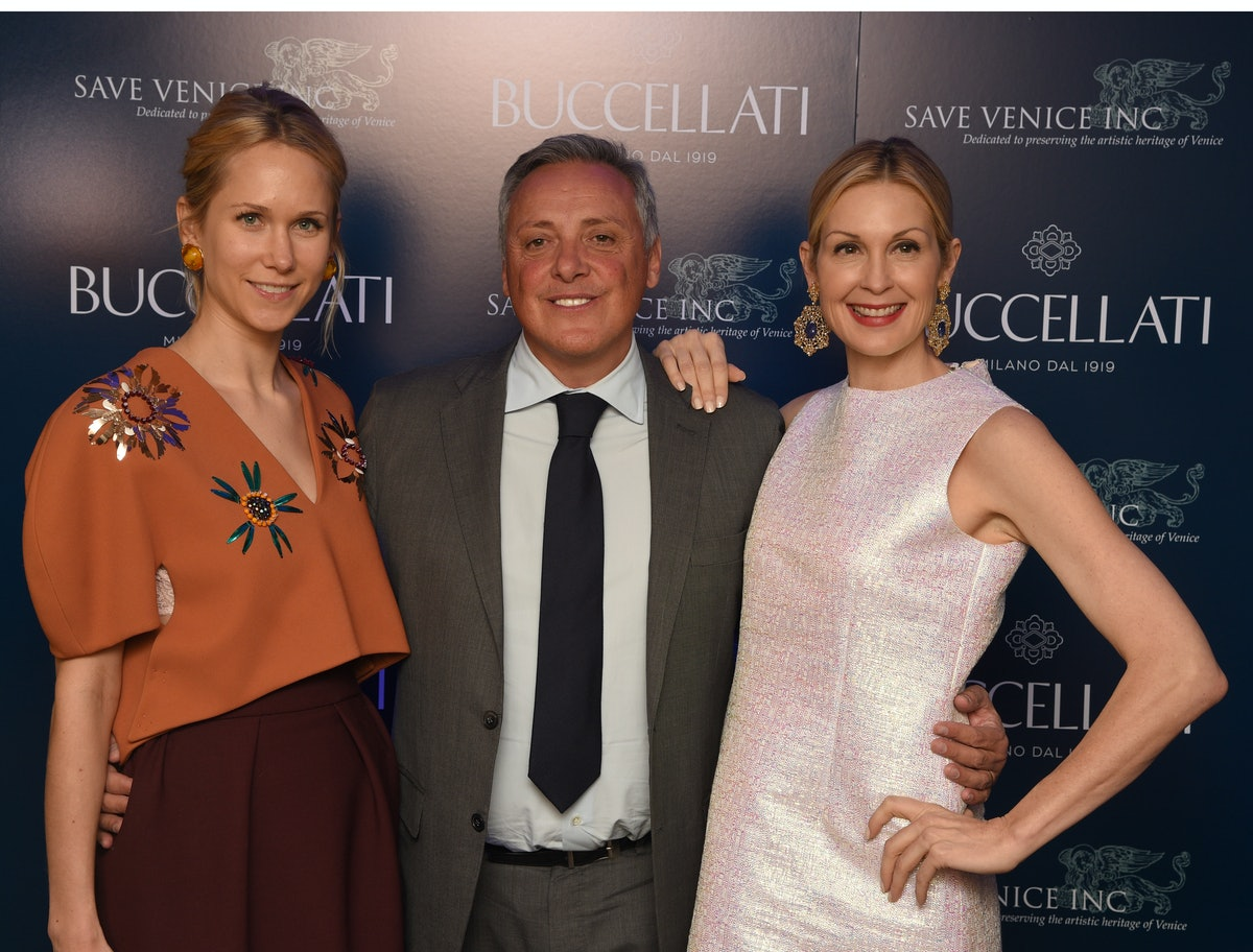 Indre Rockefeller, Alberto Milani, and Kelly Rutherford
