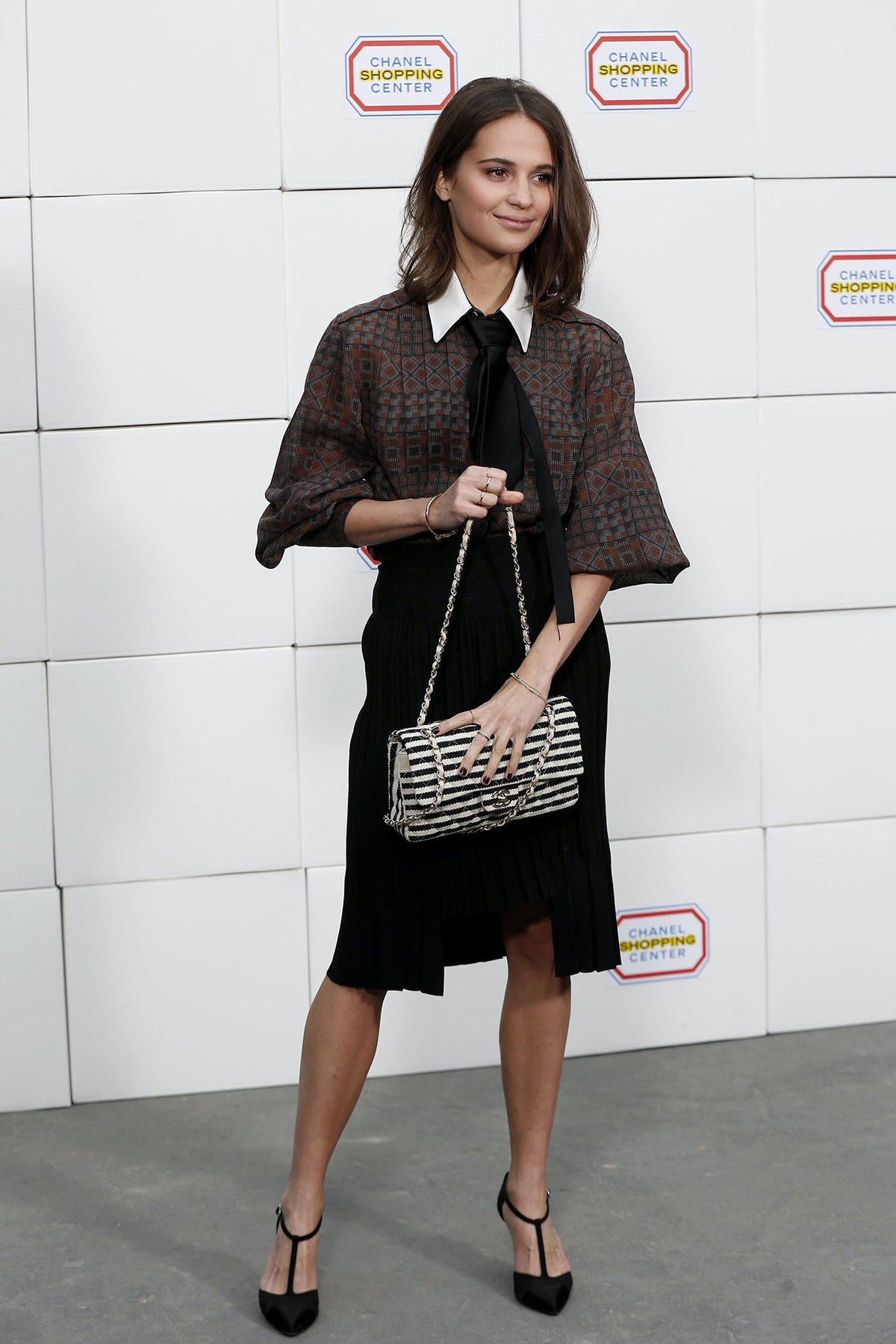 Alicia Vikander in Chanel