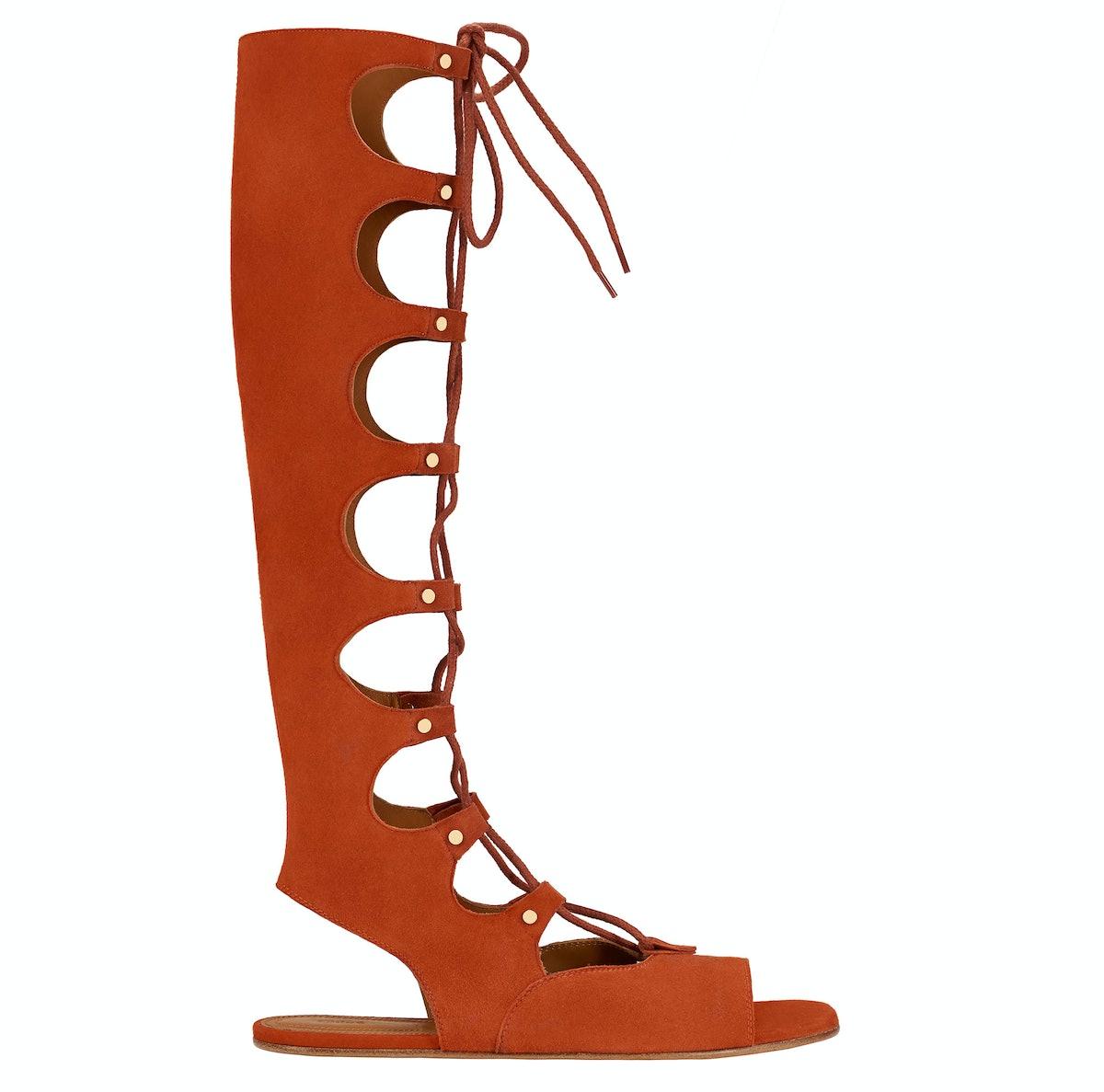 Chloe gladiator sandals