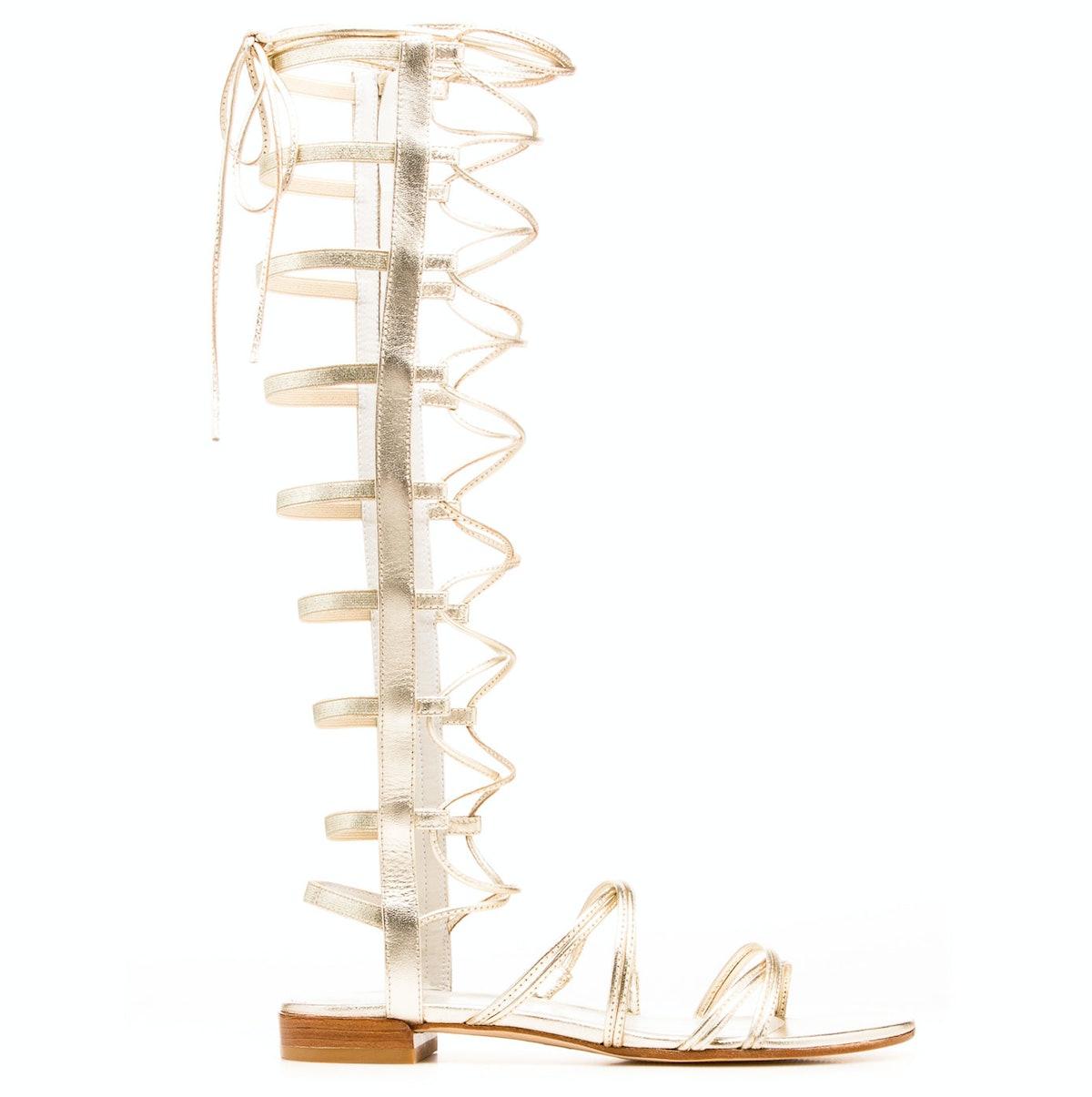Stuart Weitzman gladiator sandals