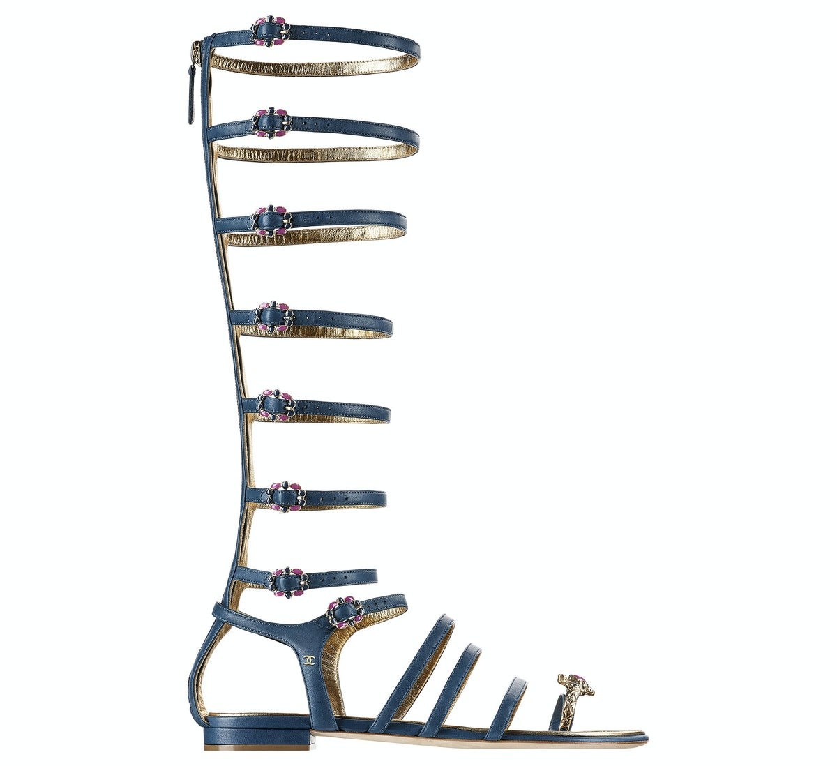 Chanel gladiator sandals