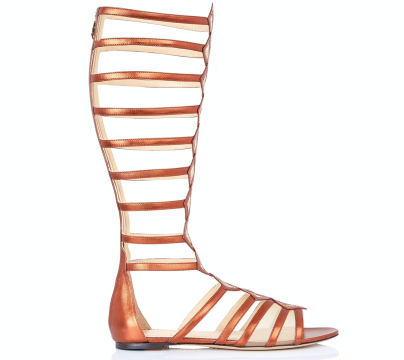 Charlotte Olympia gladiator sandals