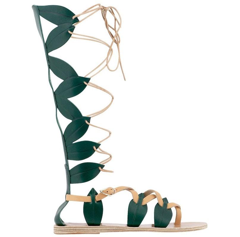 Ancient Greek gladiator sandals
