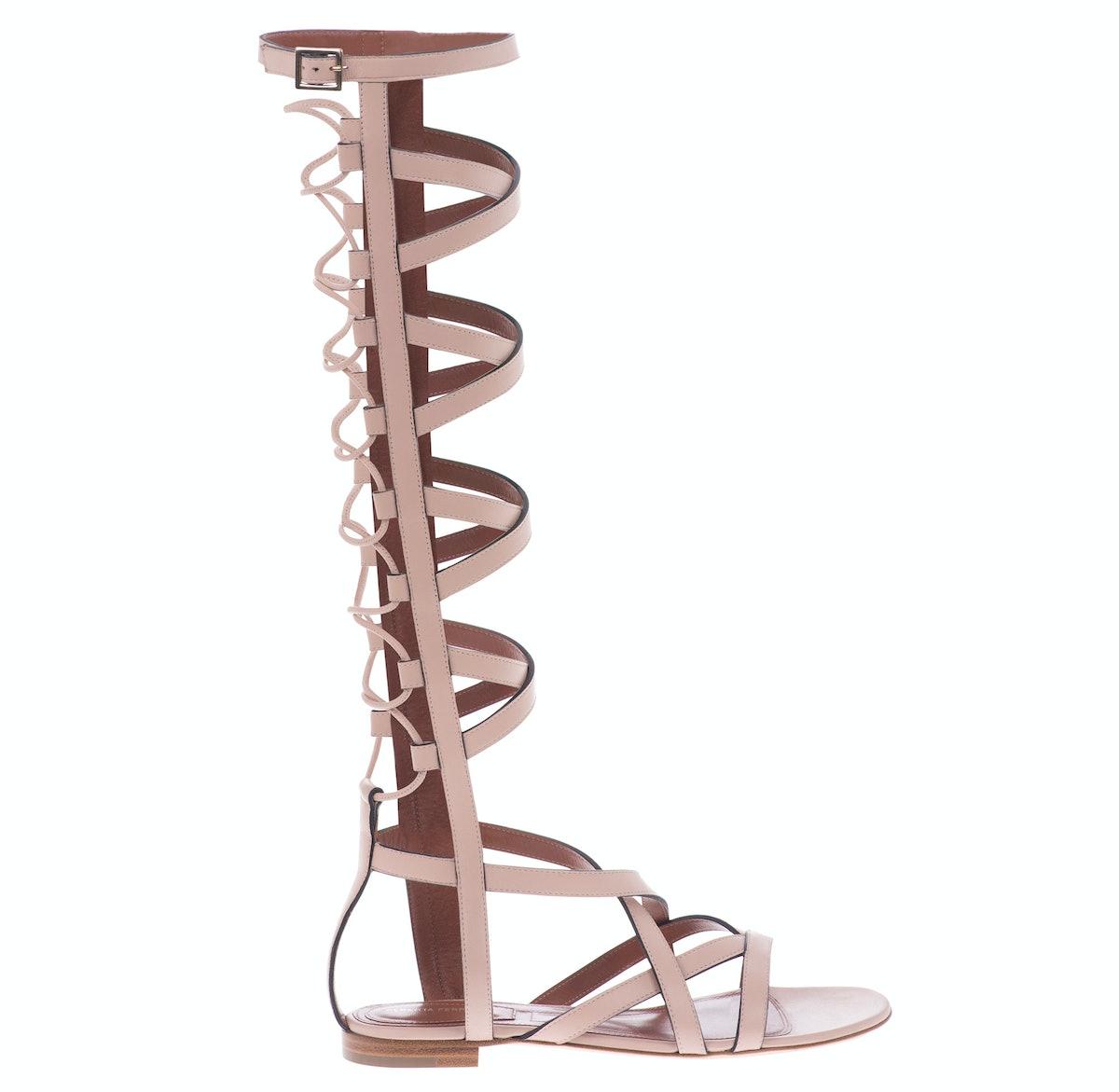 Alberta Ferretti gladiator sandals