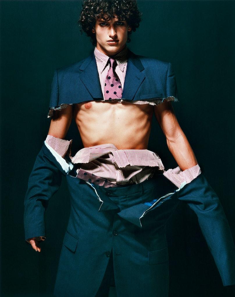 Carlos Bokelman, London, V Magazine, 2000