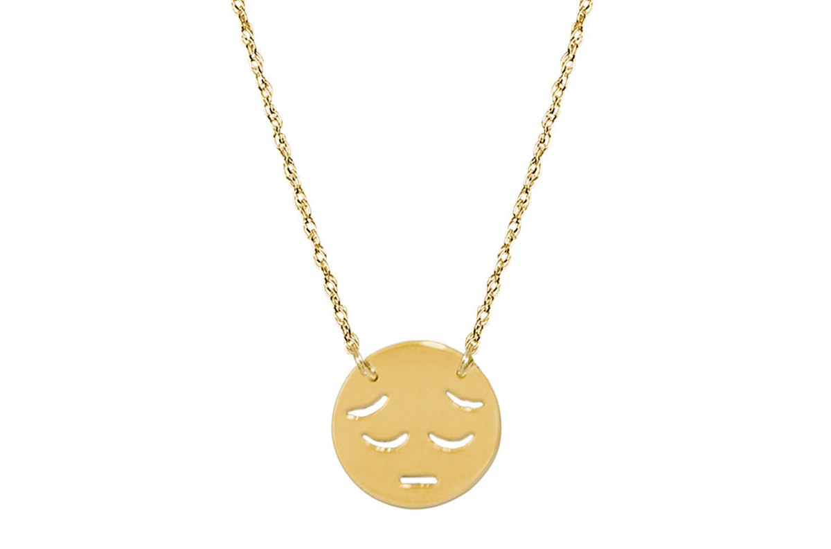 Jane Basch 14k gold necklace