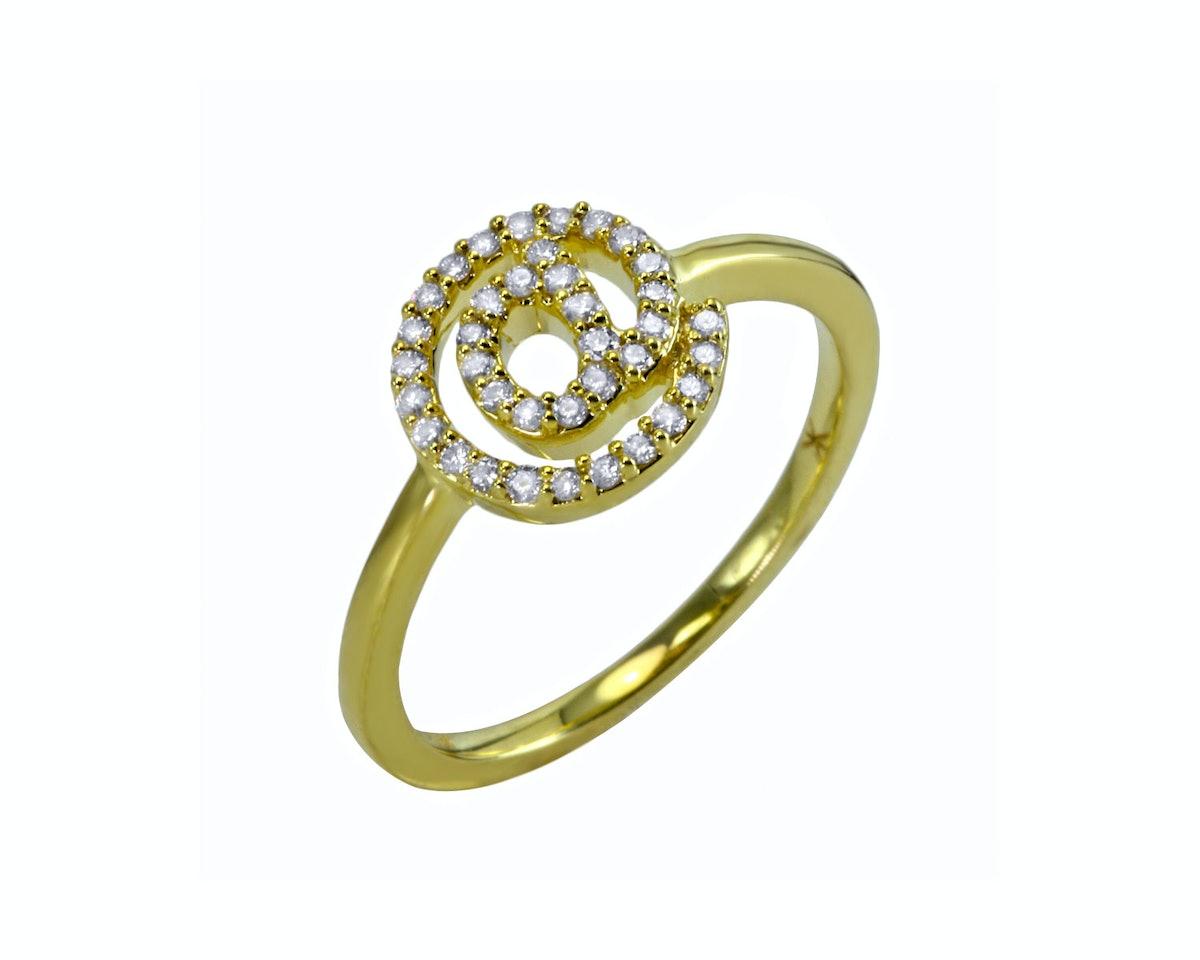 Khai Khai 18k and diamond ring