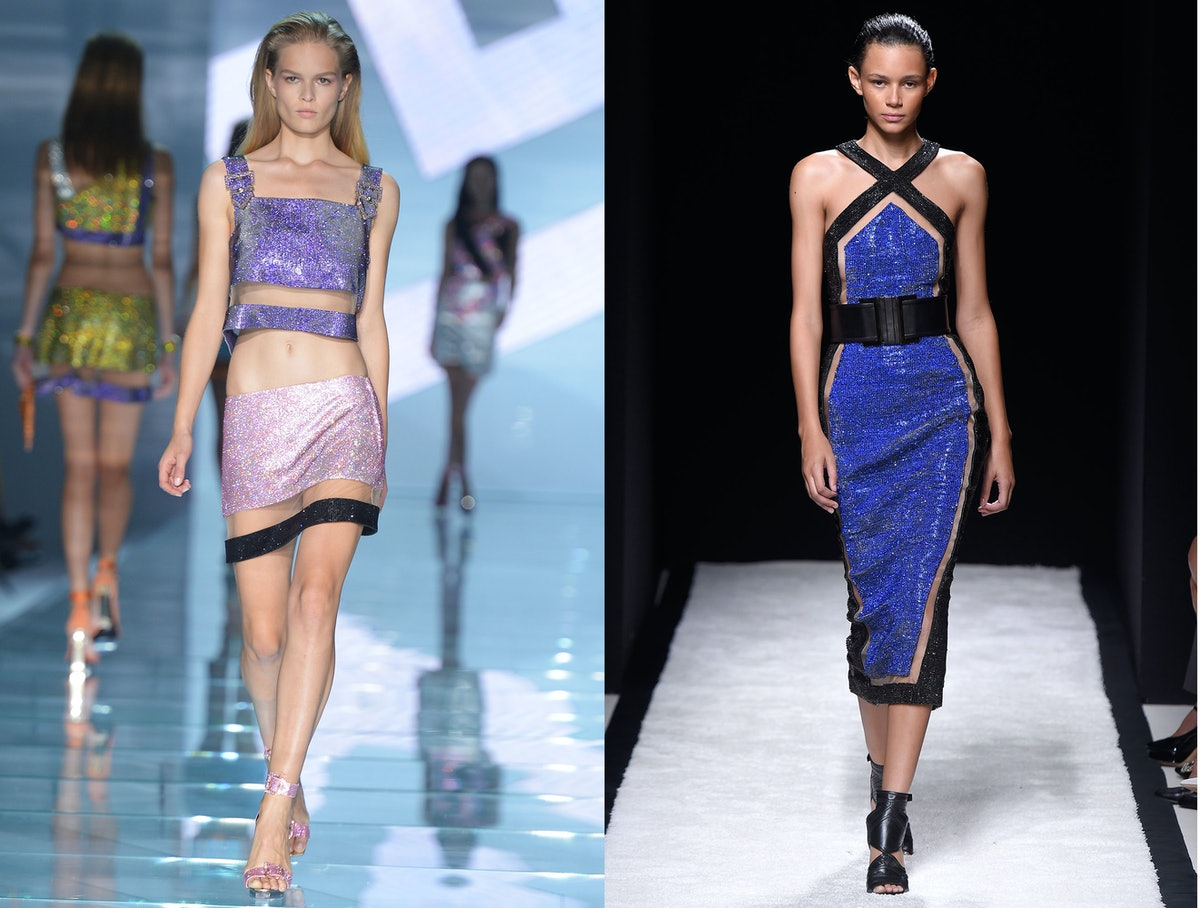 Versace vs. Balmain
