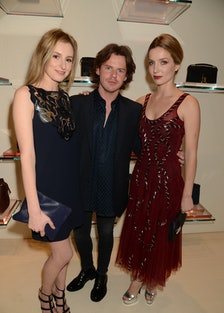 Laura Carmichael, Christopher Kane and Annabelle Wallis