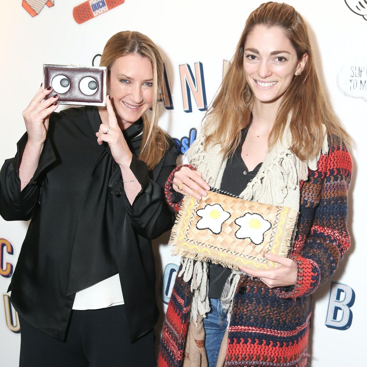 Anya Hindmarch and Sofia Sanchez de Betak