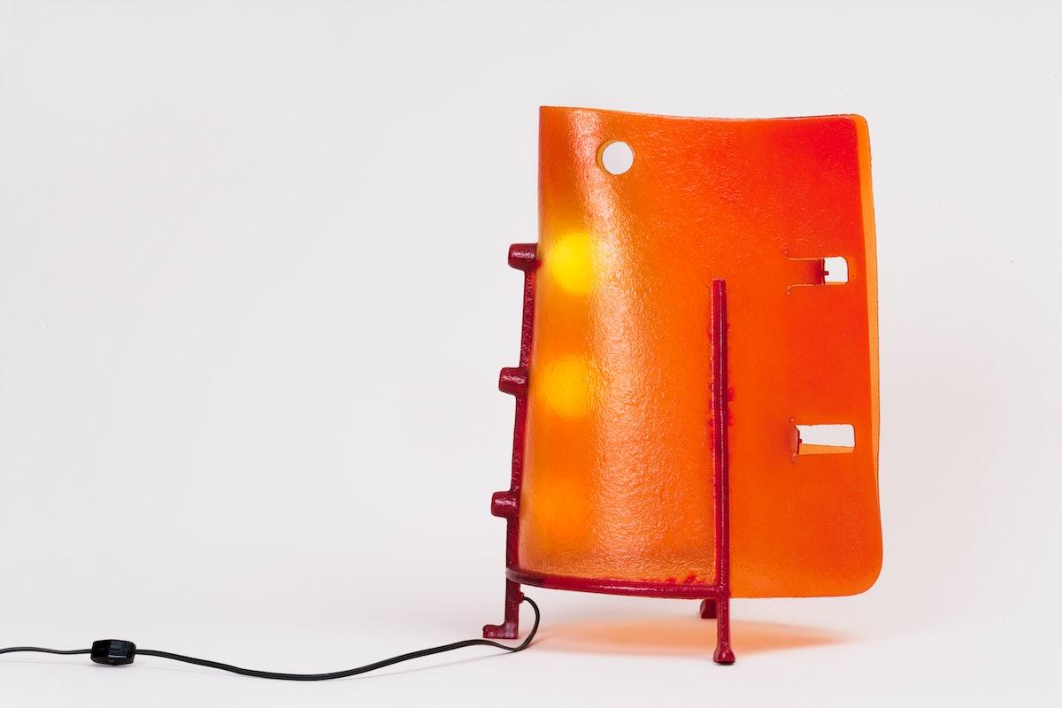 Gaetano Pesce's Belt Lamp, 1995.