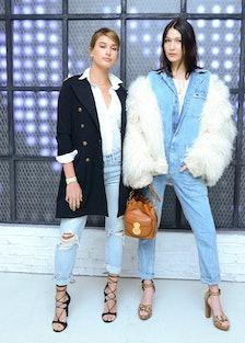 Hailey Baldwin and Bella Hadid