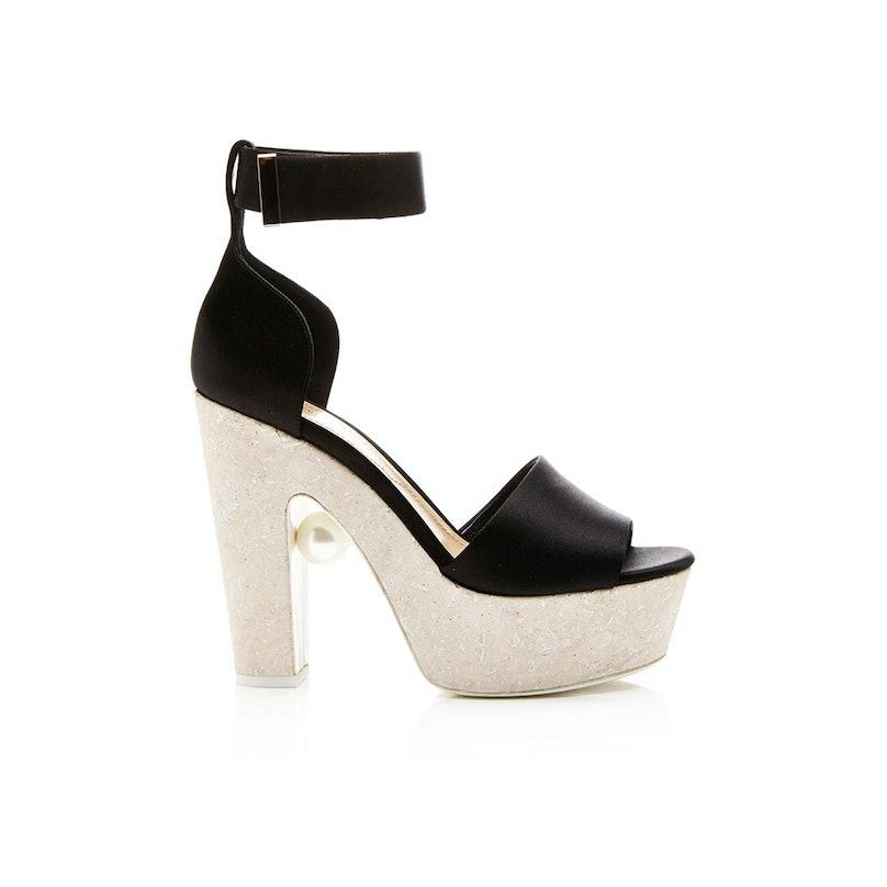 Nicholas Kirkwood platform sandals,