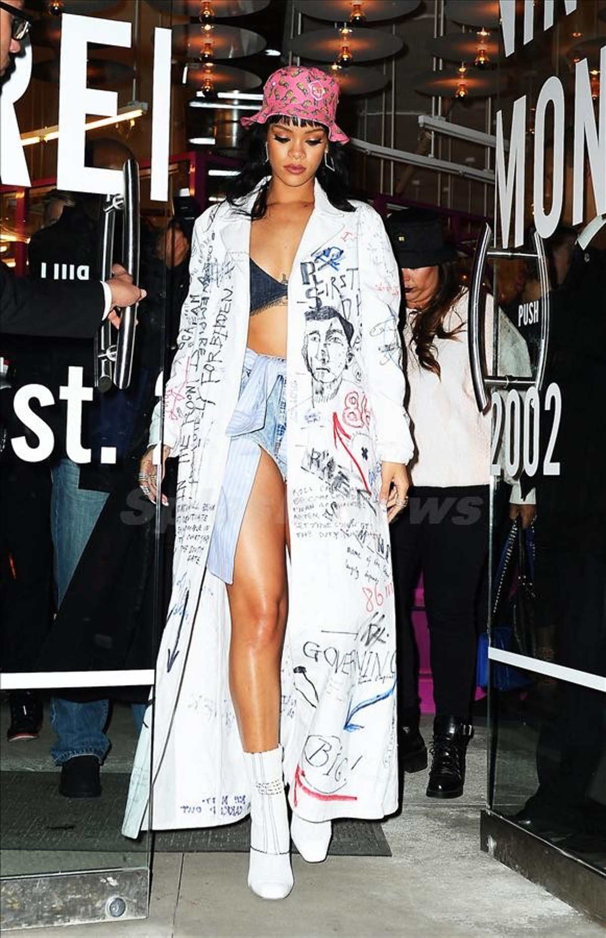 Rihanna Opening Ceremony Raf Simons