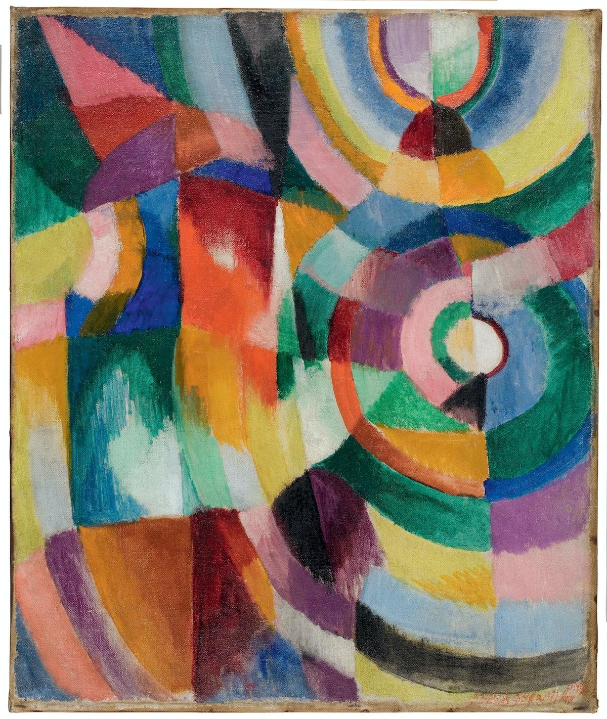 Electric Prisms, 1913