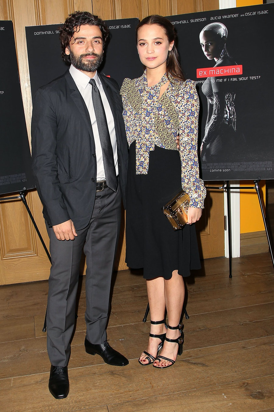 Alicia Vikander and Oscar Isaac