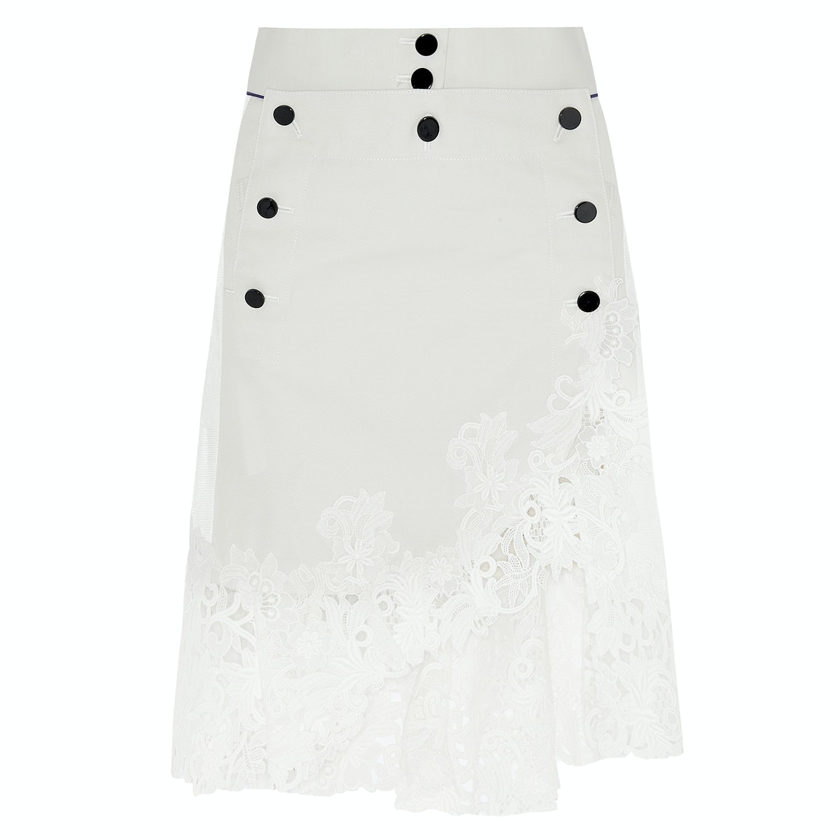 Sacai lace skirt