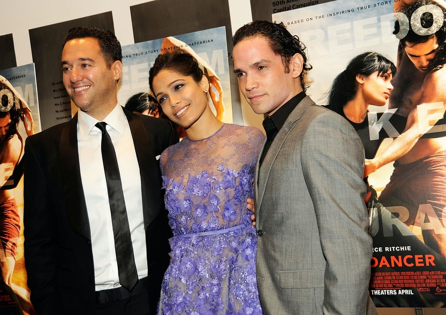 Richard Raymond, Freida Pinto, Reece Ritchie