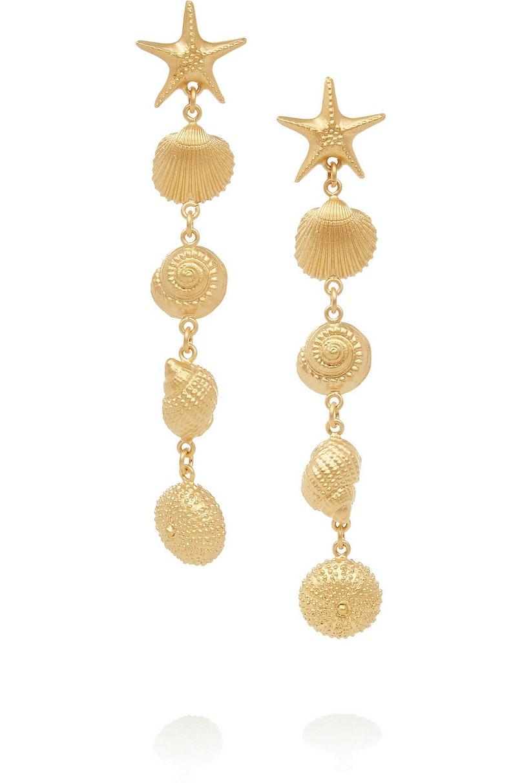 Valentino earrings, $645, NET-A-PORTER.COM