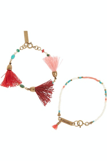 Isabel Marant bracelets, $230, NET-A-PORTER.COM