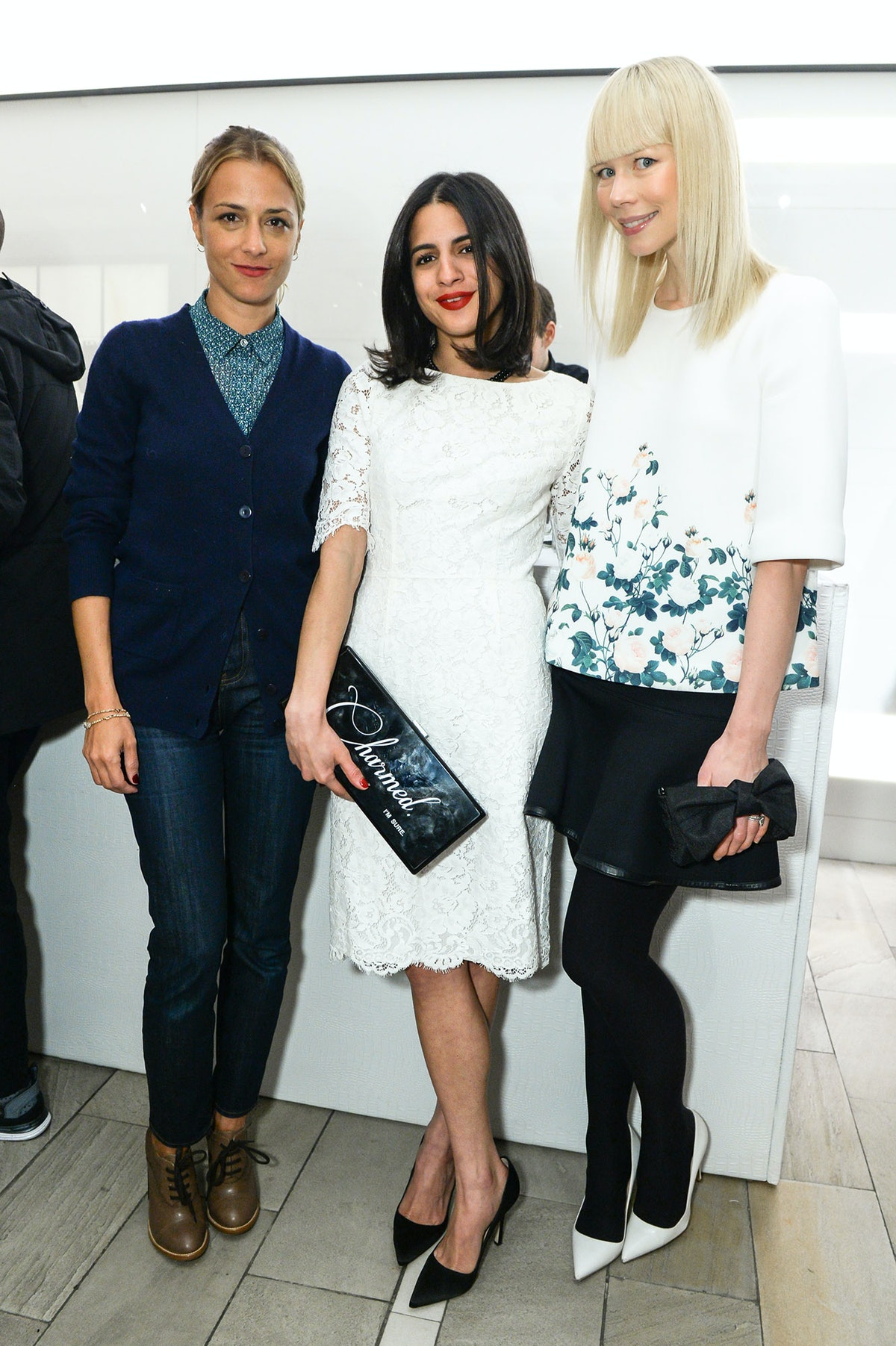 Charlotte Ronson, Haya Maraka, and Erin Fetherston