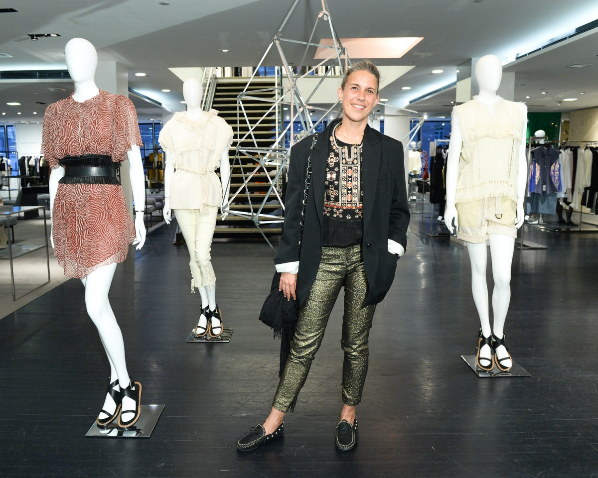 BARNEYS NEW YORK hosts a cocktail party for ISABEL MARANT