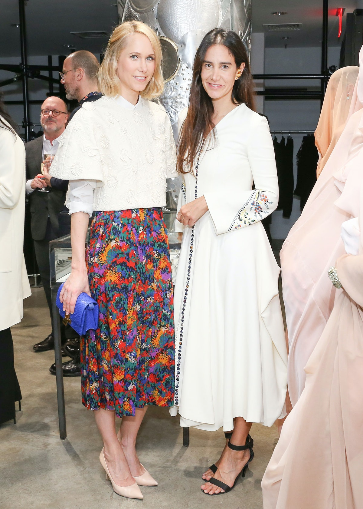 Indre Rockefeller and Ana Khouri